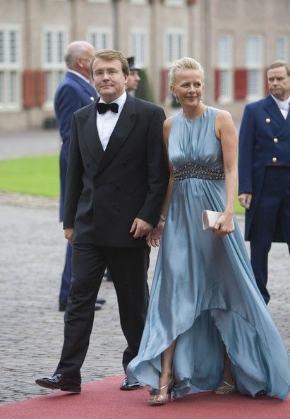 Dutch Prince Friso and Princess Mabel arrive to attend celebrations marking the 40th birthday of Dutch Crown Prince Willem Alexander at the Loo Palace on 1 Sep 2007 in Apeldoorn, The Netherlands.