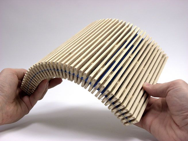 Dukta janustex flexible wood and wood materials for Flexible roofing material