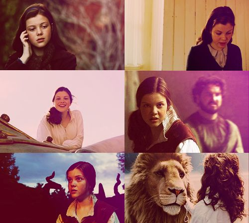 Lucy Pevensie in The Voyage of the Dawn Treader
