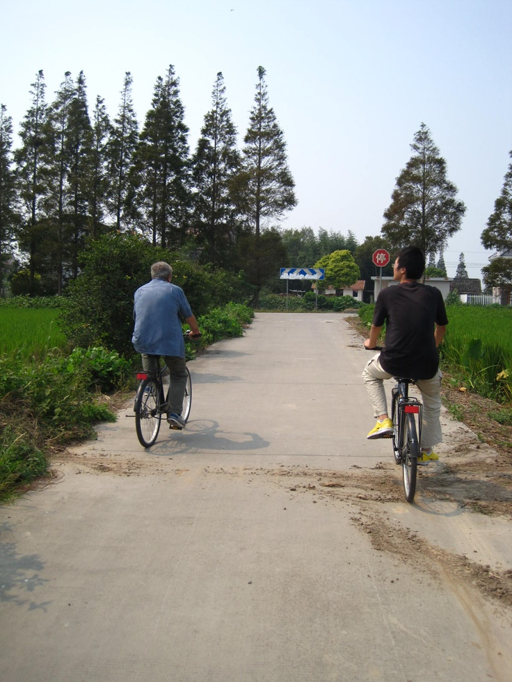 Best way to get around on the island? Bikes of course! Environmentally friendly and stress-free!