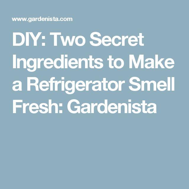 how to make a refrigerator smell good