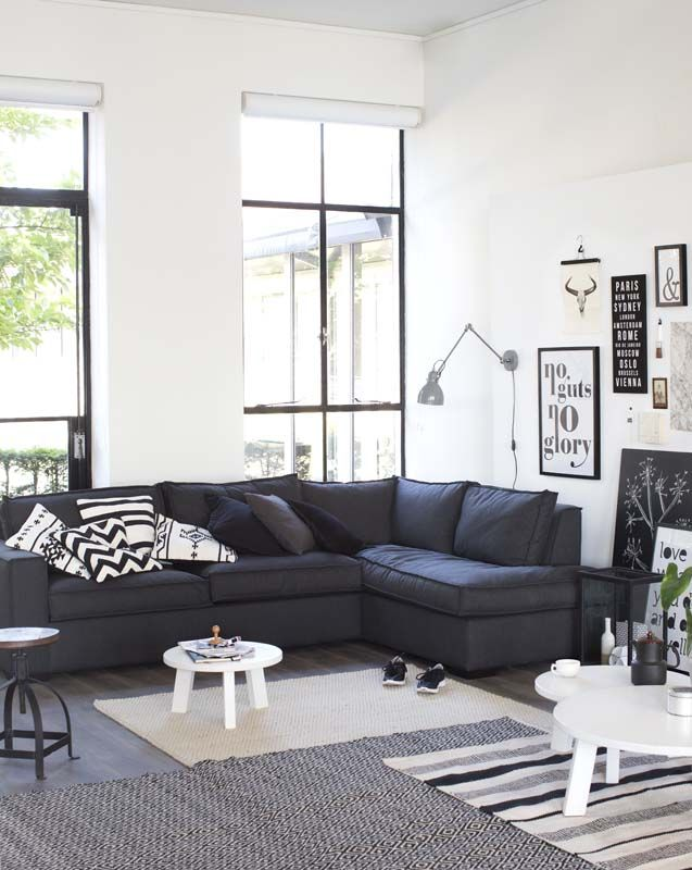 25 beste idee n over zwarte bank op pinterest zwart bank decor zwarte bank decor en grote bank - Idee schilderij living ...
