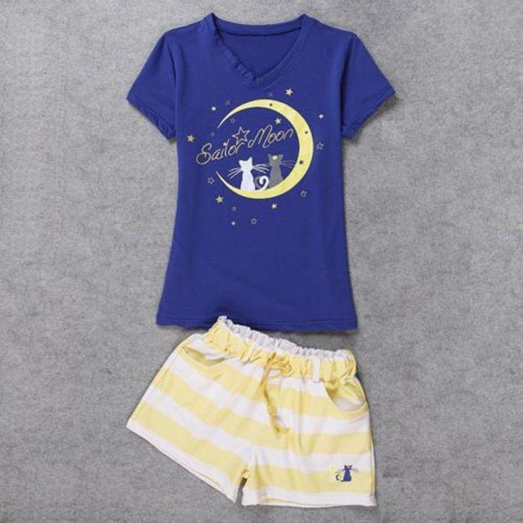 Sailor Moon Summer Shirt & Short 01
