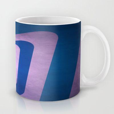 In Retro Blue Mug by Fine2art - $15.00