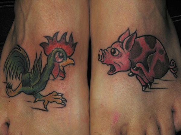 Best 25 pig tattoos ideas on pinterest piglet tattoo for Rob dyrdek tattoo relentless