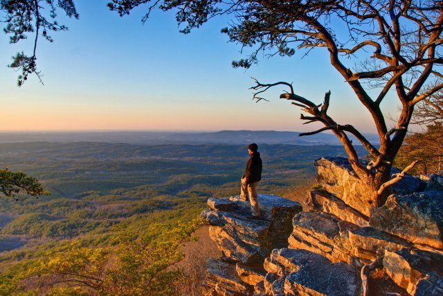 Cheaha State Park | Highest place in AL