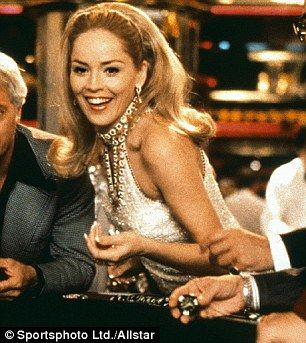 Sharon Stone in Casino-Her wardrobe for this movie was 70's fabulous!!