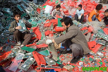 8.E-waste posing threat to our life