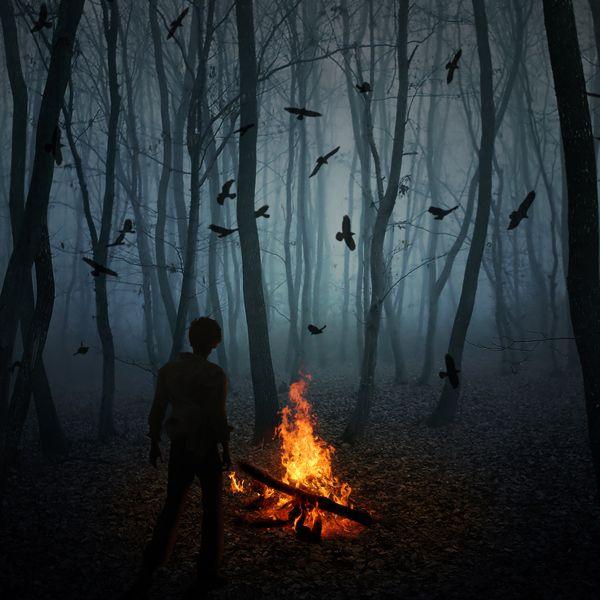 "Light in the Dark (M); art: ""Darkness Falls"" by Zoltan Toth"