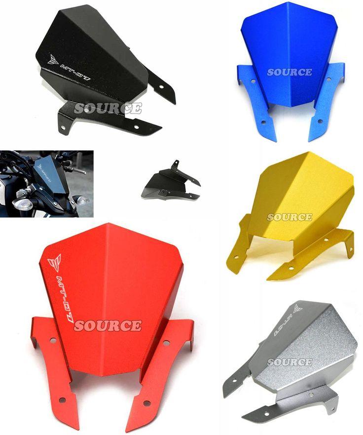 [Visit to Buy] For YAMAHA MT-07 MT07 MT 07 2013 2014 2015 New Aluminum Motorcycle Motorbike accessories Windshield Windscreens Wind Deflectors #Advertisement