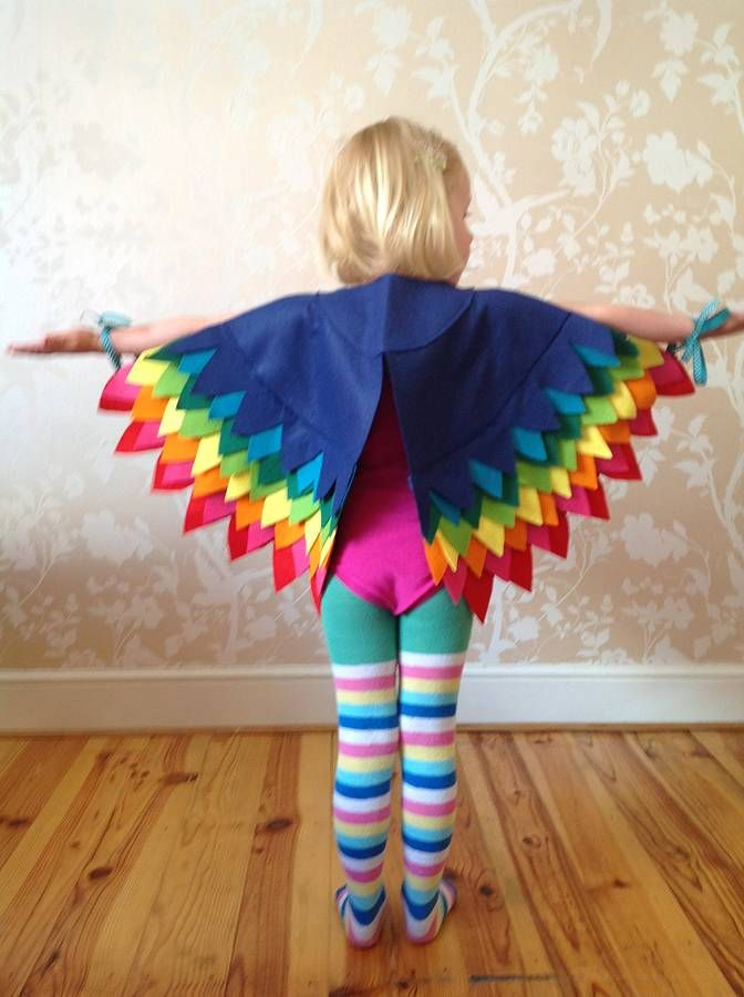 bird of paradise cape by the button tree | notonthehighstreet.com