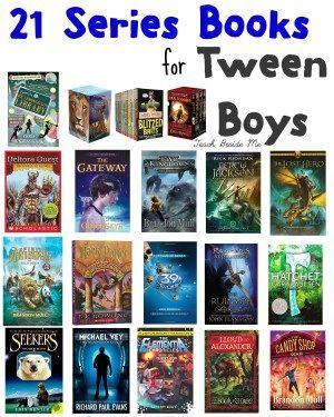 21 Series Books for Tween Boys