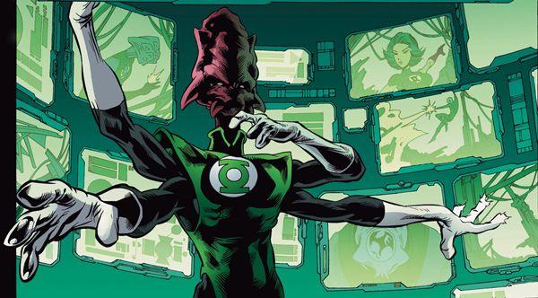 Salaak/Green Lantern/Powers-Green Lantern Ring, Flight