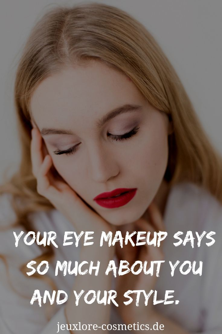 a94e06ce87d Your eye makeup says so much about you and your style. #makeup #style