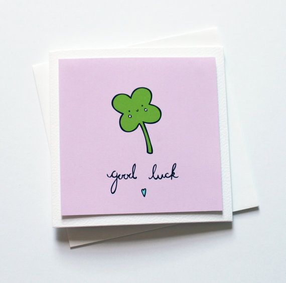 26 best FOLIO 2    good luck images on Pinterest Good luck cards - good luck cards to print