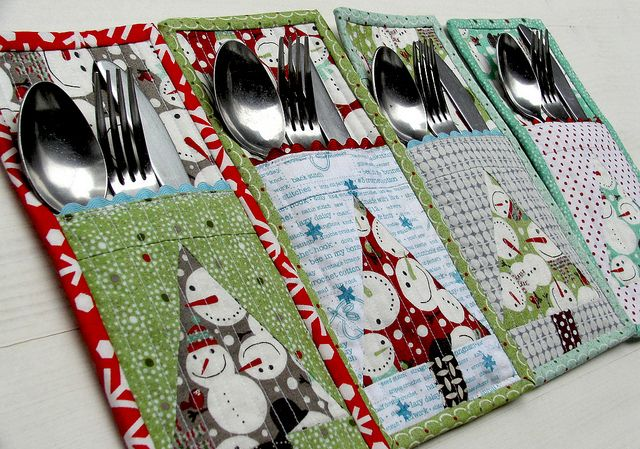 These would be cute with matching placemats and napkins