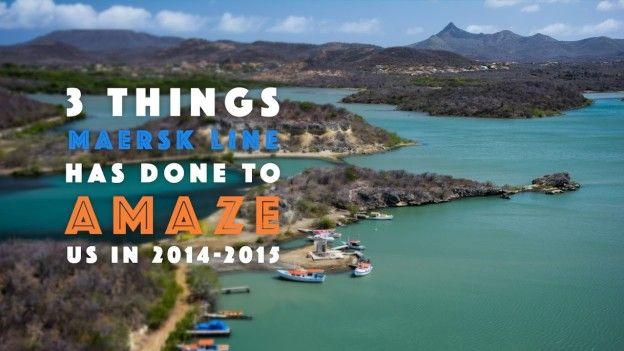 3 ways Maersk Line impressed international community in 2014-2015