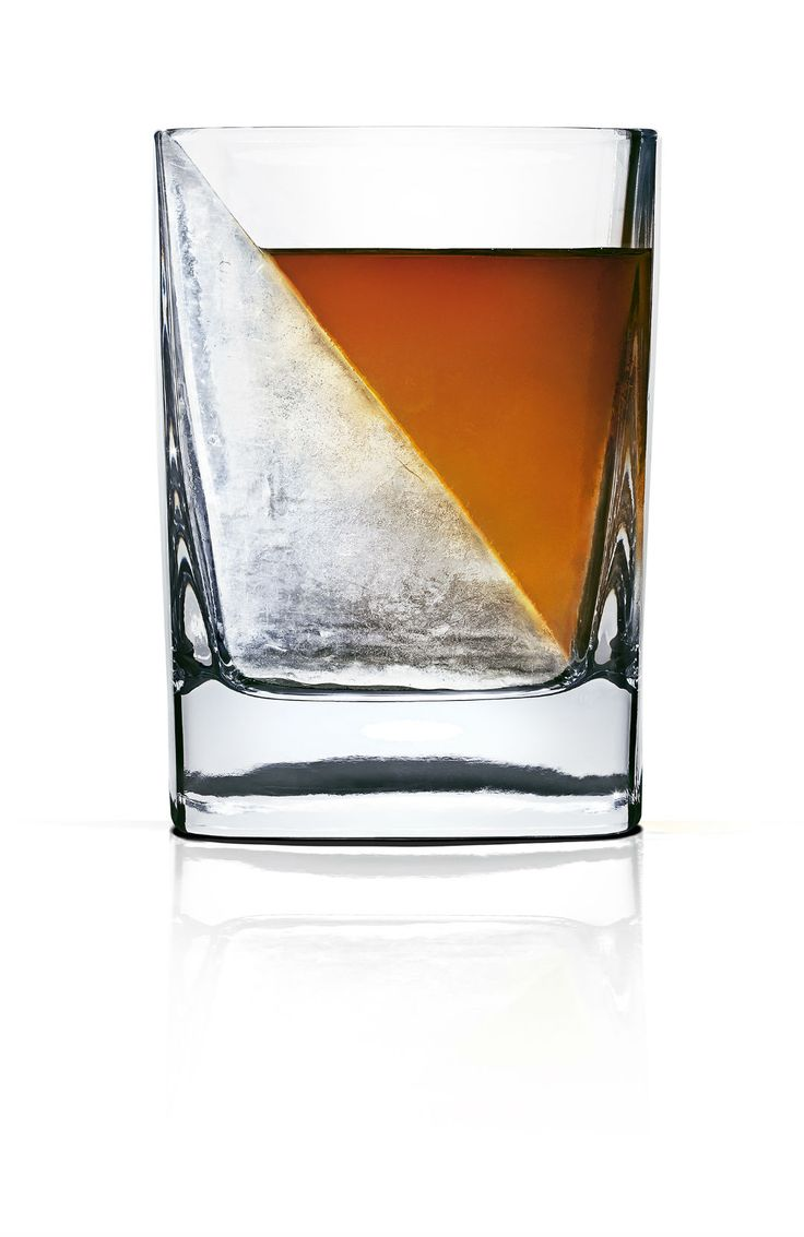 Take the edge off with Whisky Wedge, the artful way to perfectly chill, but not water down your favourite spirits