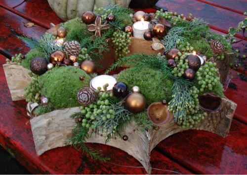 Kerstster ((bloemschikken-en-zo))