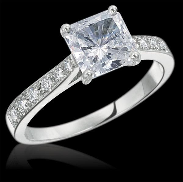 Gumuchian Jewelry Engagement Rings: CINDERELLA ENGAGEMENT RING
