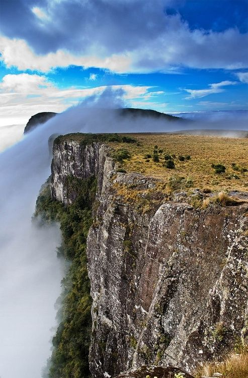 Cânion Fortaleza - Parque Nacional da Serra Geral - Cambará do Sul - Rio Grande do Sul - Brasil