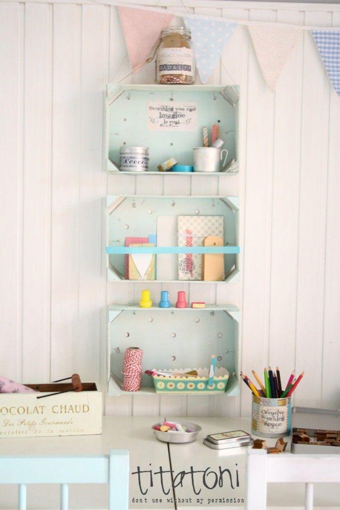 6 Cajas Estanterías DIY para Dormitorios infantiles - DecoPeques