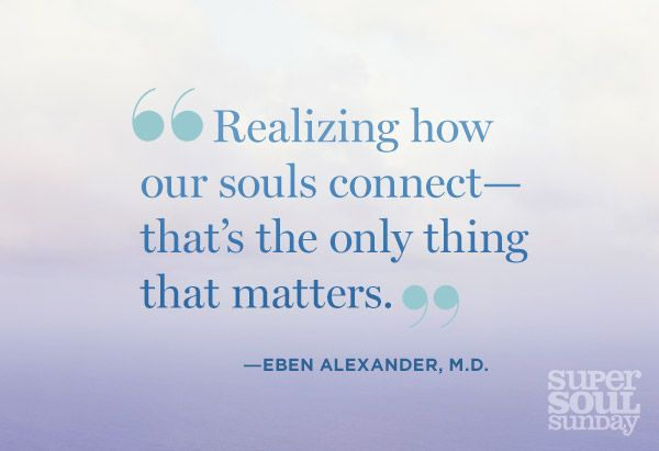 7 Lessons Learned from the Afterlife Before his near-death experience, neurosurgeon Dr. Eben Alexander was strictly a man of science. Today, he's also a man of faith. Get seven lessons from the other side he says we can all live by.