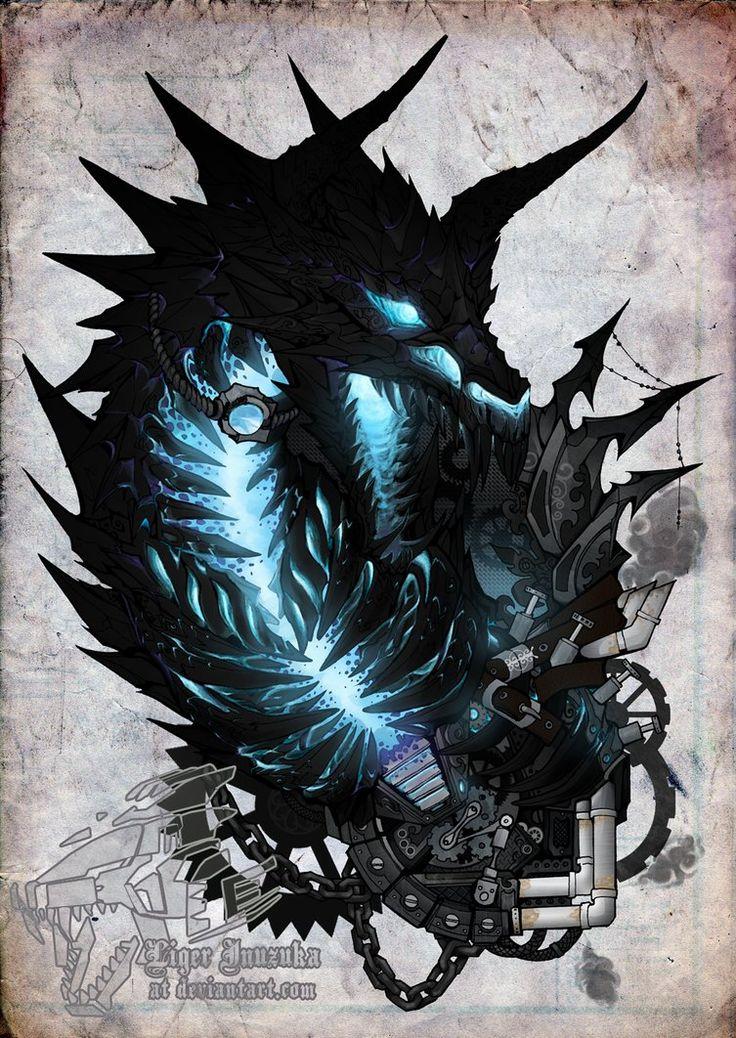 Gothic Deathwing by Liger-Inuzuka