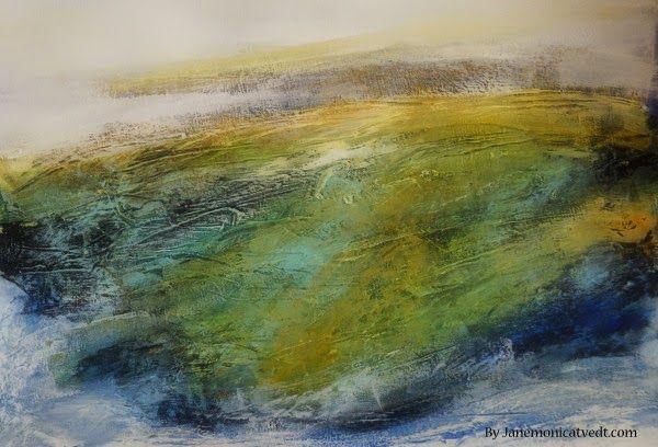Jane Monica Tvedt - Empire of heart: Jæren abstract landscape - Dikteren ser