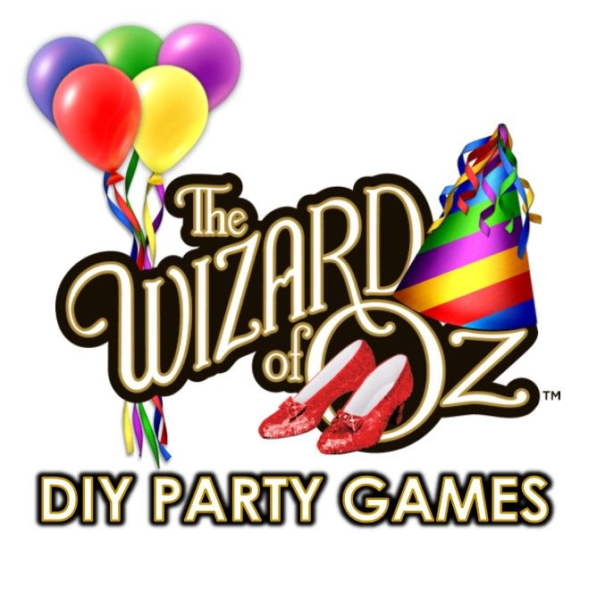 Fun and original D.I.Y. Wizard of Oz Games and treasure hunt ideas that will be the HIT of the PARTY!