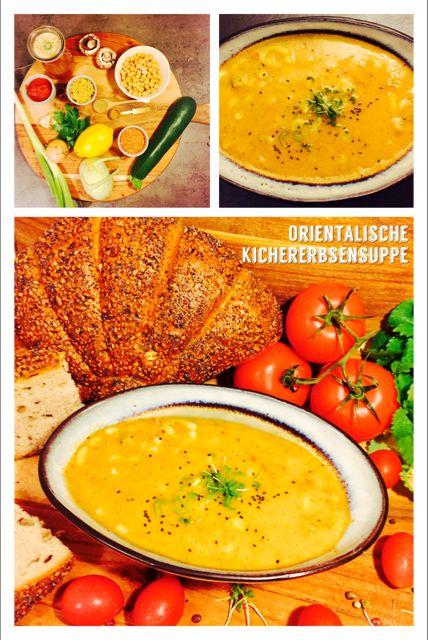 Orientalische Kichererbsensuppe Portionen 4| Vorbereitungszeit 10 min| Gesamtzeit 25 min Zutaten 70 g Gabelspaghetti 50 g Rote Linsen 400 g Kichererbsen aus dem Glas 1,5-2 L Gemüsebrühe 1,5 EL gemahlener Kreuzkümmel 1 TL Zimt 1 Zwiebel mehr auf: https://elbtaste.com/essen-und-trinken/suppen/orientalische-kichererbsensuppe/ #vegan #suppe #kichererbsen #gesund #lecker #genuss