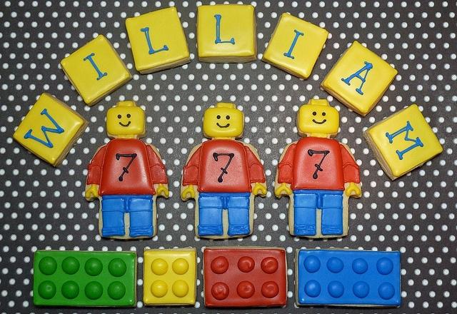 Lego Cookies