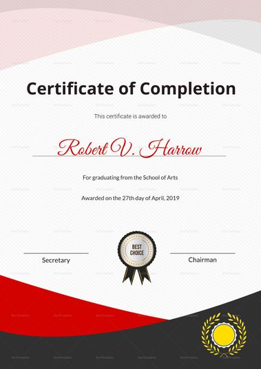25 best Education Certificate Designs images on Pinterest - graduation certificate