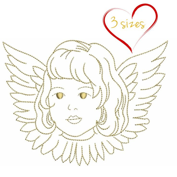 Angel Christmas machine embroidery design  pes files designs instant digital download pattern holiday designs in the hoop file towel by SvgEmbroideryDesign on Etsy