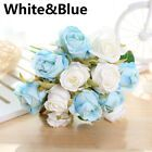 Künstliche Blumen Dekoration von Hochzeiten Falsche Rosen Blumenstrauß der Braut #De …   – Dekorationen