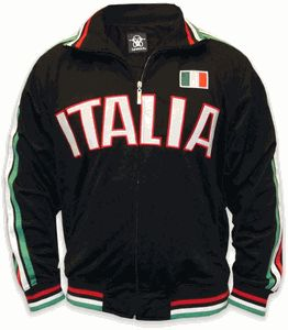International Soccer Track Jackets -- Italy Soccer Jacket-Stay warm and celebrate Italy with this cool Italia International Soccer Track Jacket #soccer