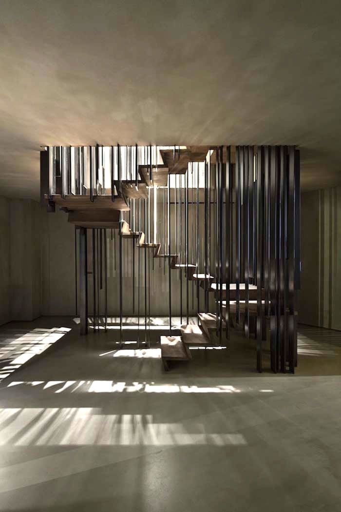 This staircase will make you look twice - Comfortable home - http://www.skonahem.com/inredning/Den-har-trappan-kommer-att-fa-dig-att-titta-tva-ganger