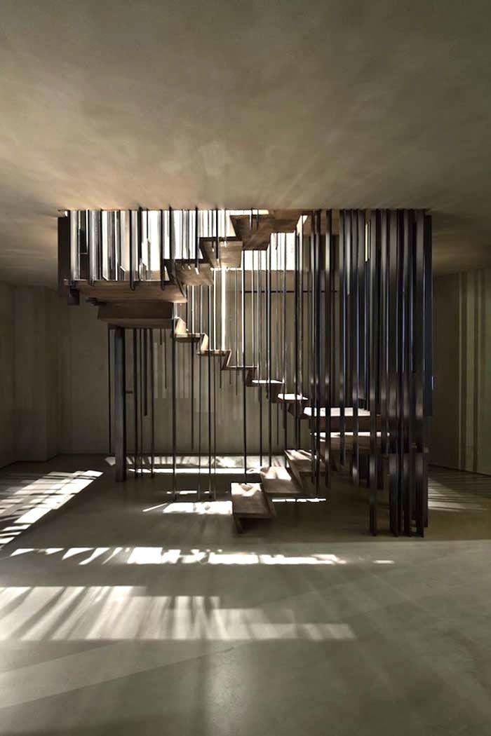 This staircase will make you look twice - Comfortable home - http://www.skonahem.com/inredning/Den-har-trappan-kommer-att-fa-dig-att-titta-tva-ganger