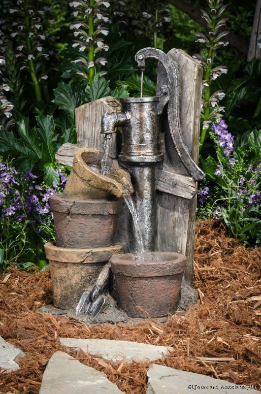 Country Style Water Feature | ... About Bond Y94145 Resin 3 Tier Indoor  Outdoor