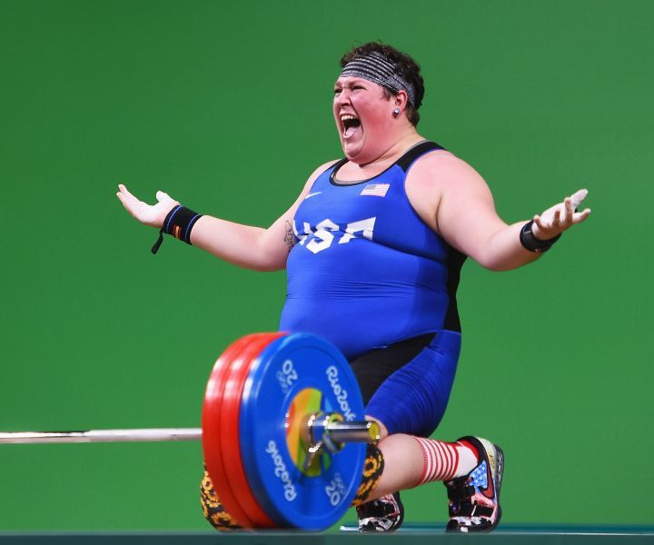 In Olympic weightlifting, people of every body type imaginable can be seen competing at the highest levels.