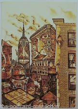 Grant Shaffer, Illustrator New York Cityscape