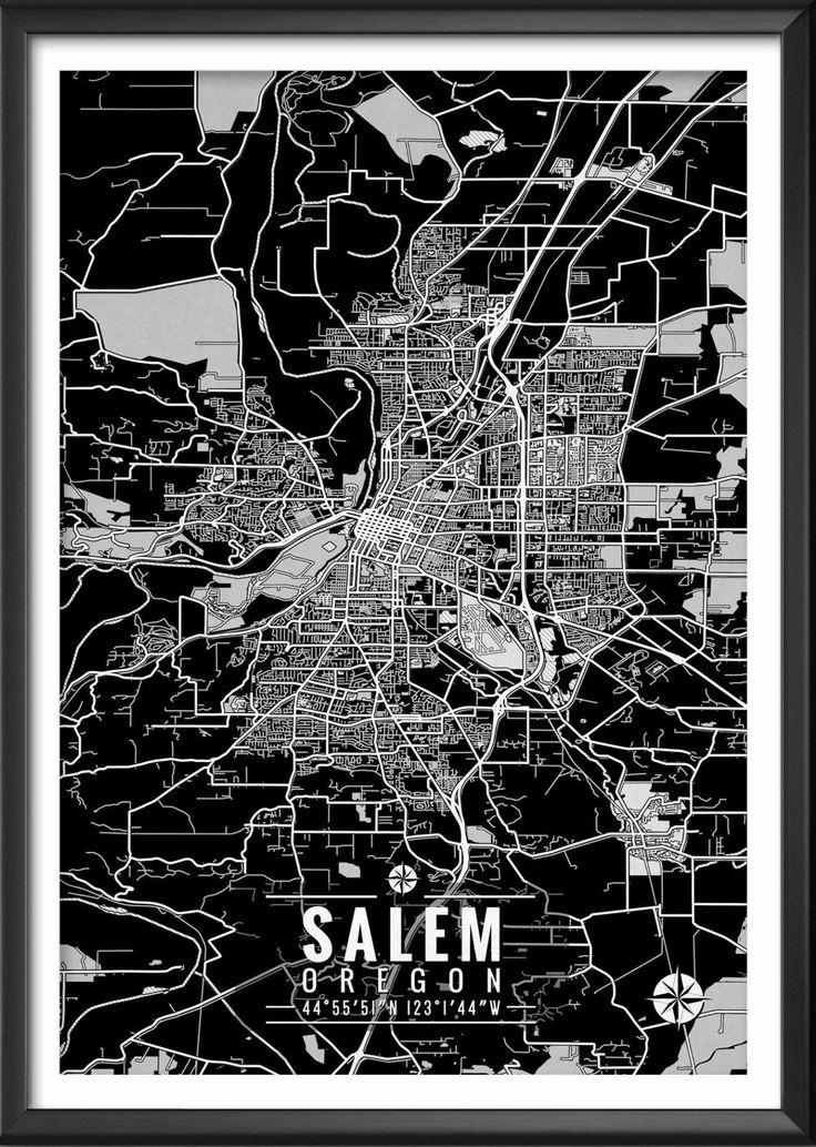 Kentucky Earthquake Map%0A Salem Oregon Map with Coordinates