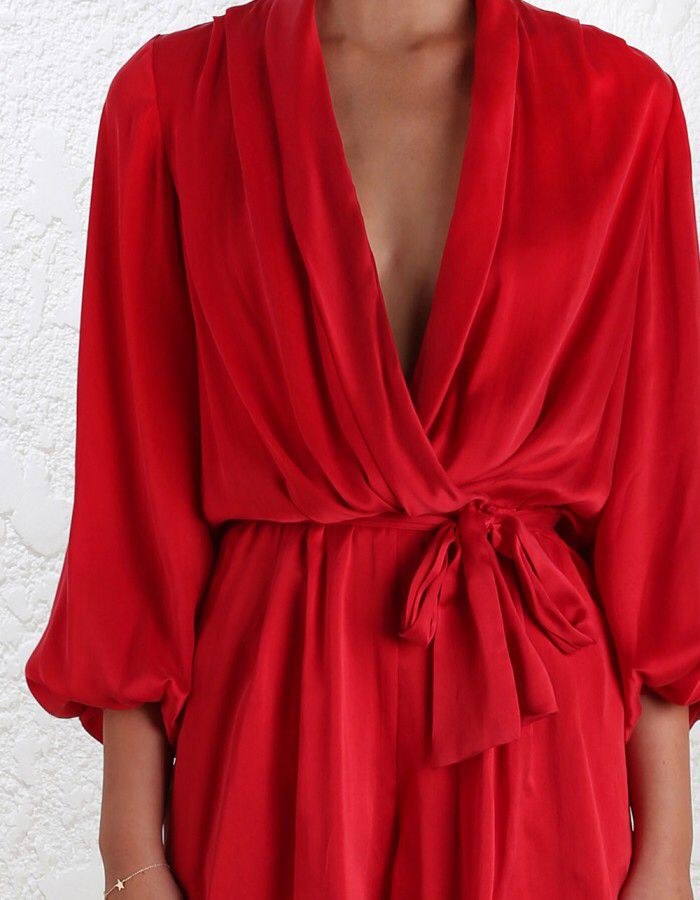 Zimmerman red playsuit