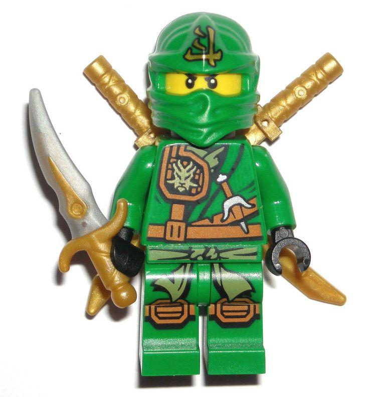 Lego ninjago lloyd zukin minifigure authentic green ninja - Ninjago lloyd ...