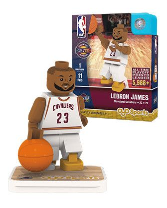 OYO Sports Cleveland Cavaliers Lebron James Record Breaker