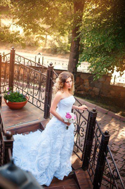 Невеста на террасе Имения Алтунъ