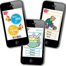 Een app om op een auditieve en visuele manier woorden aan te leren in het eerste leerjaar