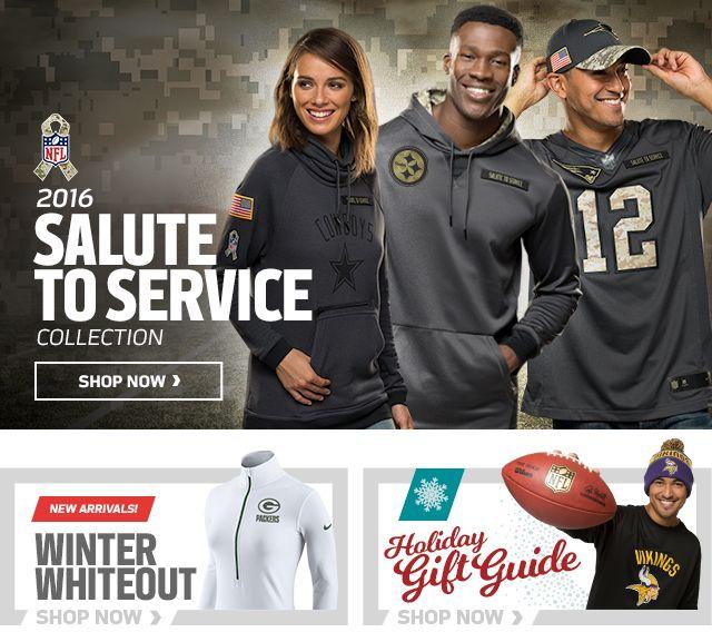 NFLShop - The Official Online Shop of the NFL | 2016 NFL Nike Gear, NFL Apparel & NFL Merchandise