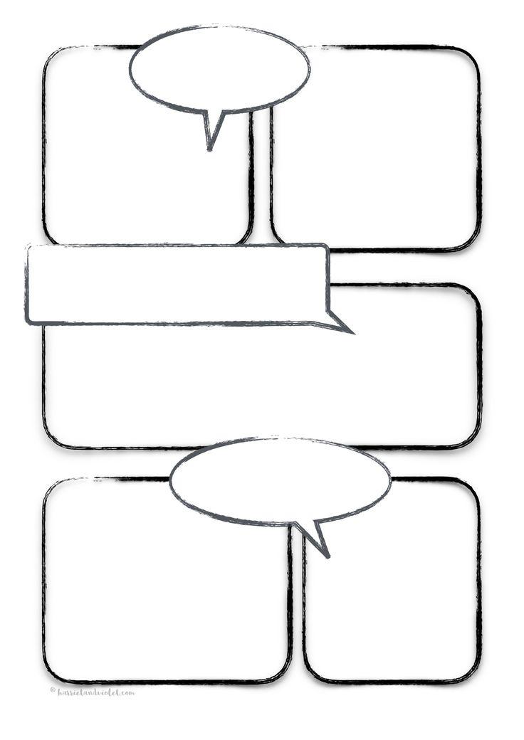 comic book resume template