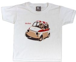 Felix Petrol Fiat 500 children's t-shirt